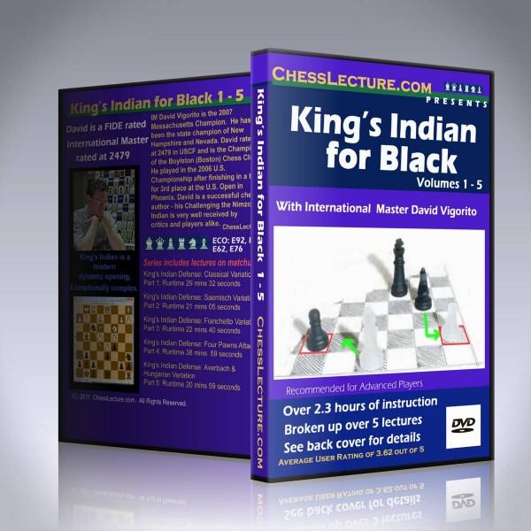 King's Indian for Black – IM David Vigorito