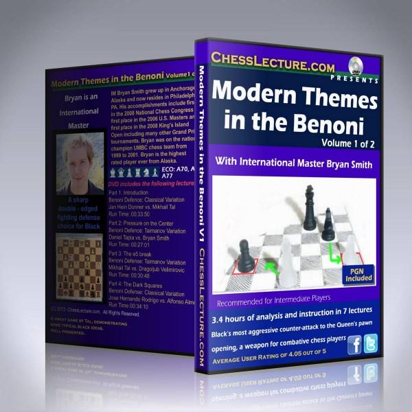 Modern Themes in the Benoni – IM Bryan Smith