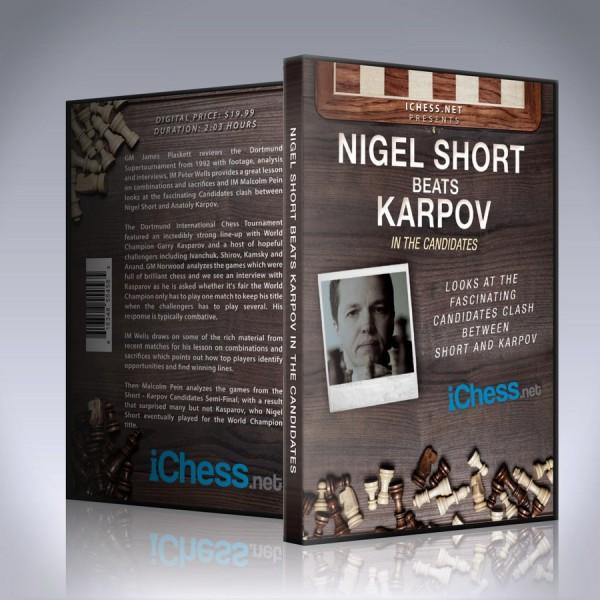Nigel Short beats Karpov in the Candidates