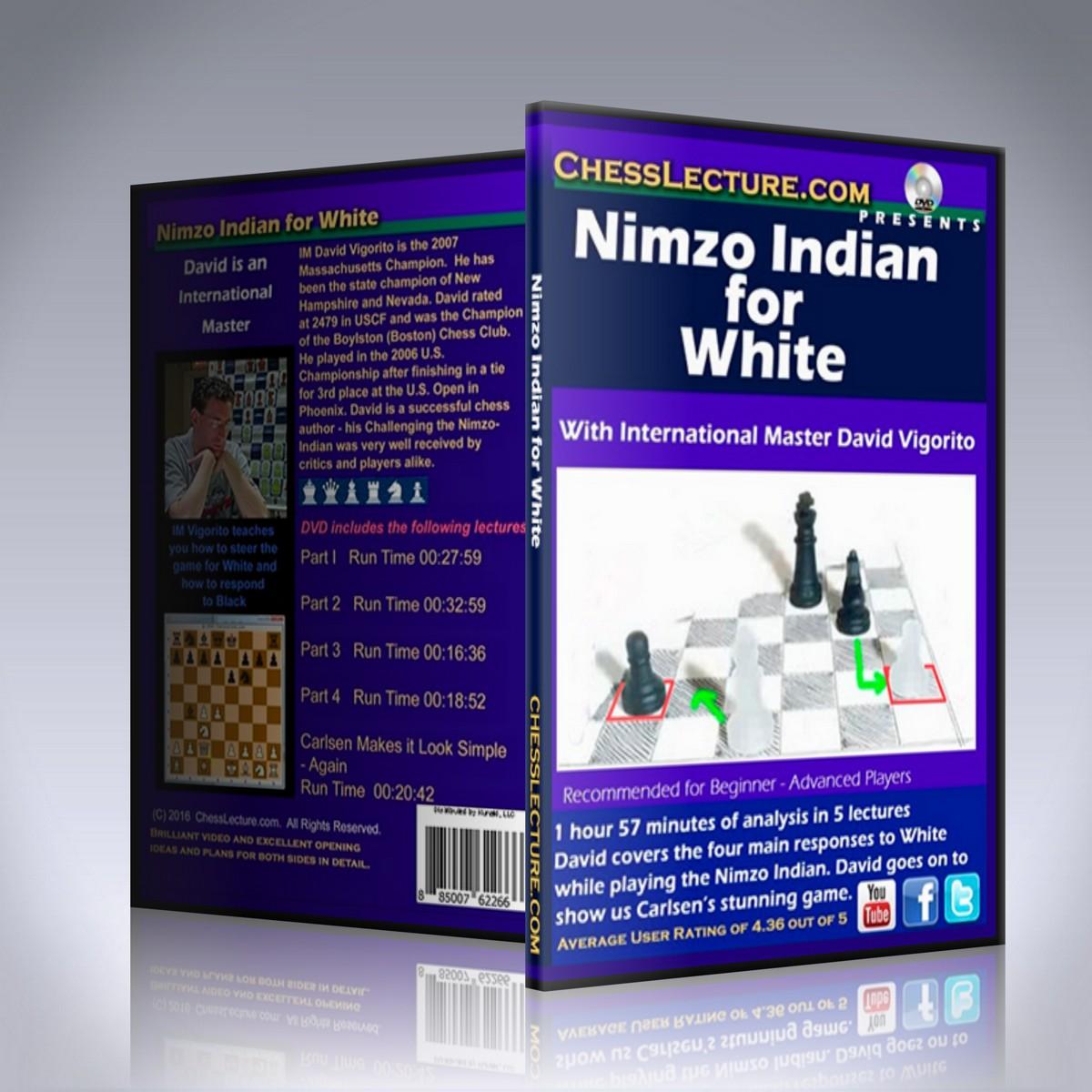 Nimzo Indian for White – IM David Vigorito