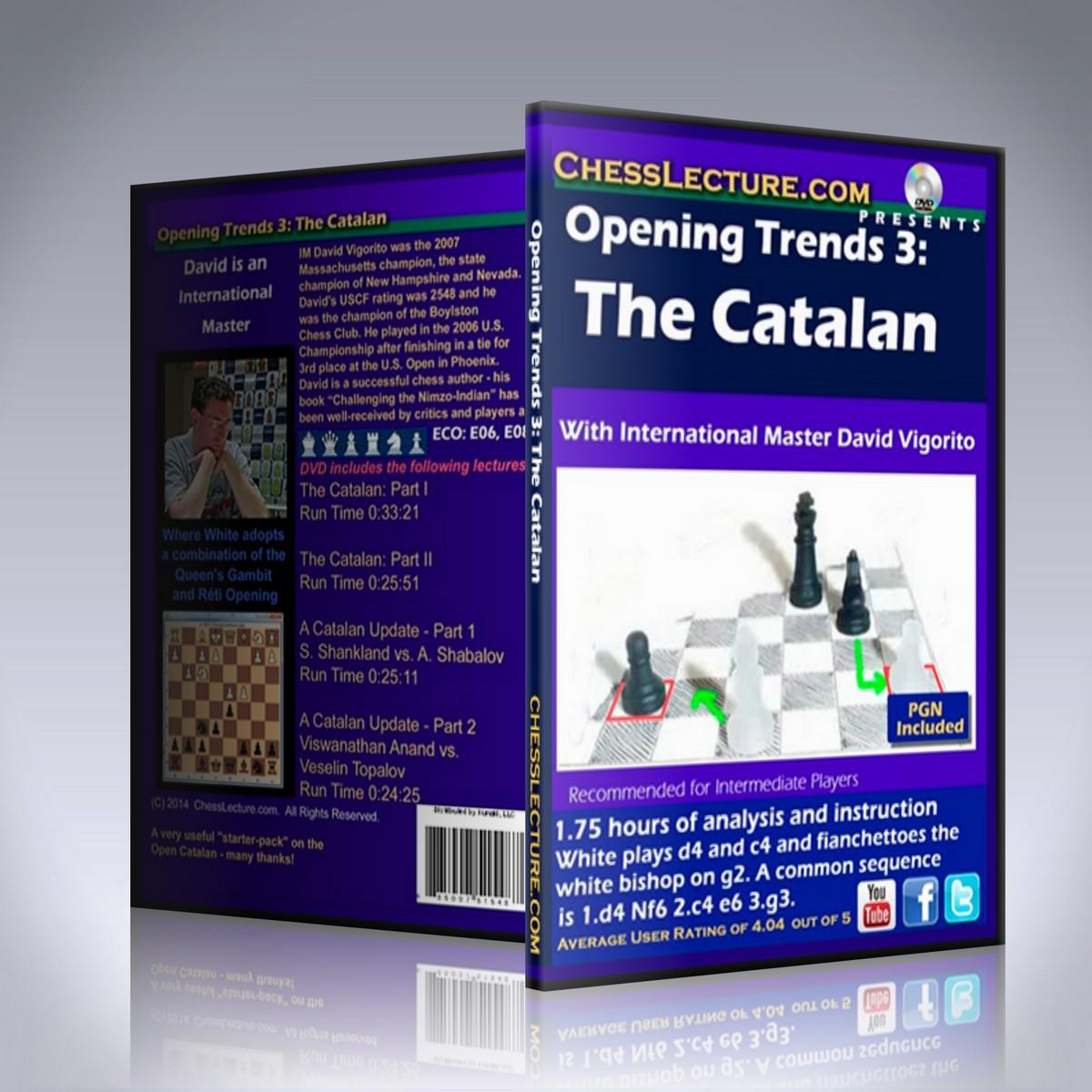 Opening Trends 3: The Catalan – IM David Vigorito