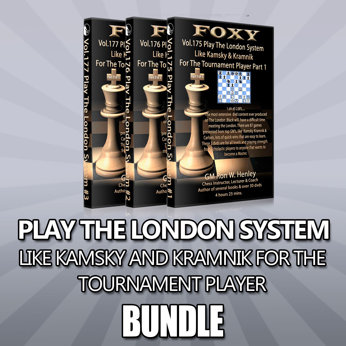 Play The London System Like Kamsky and Kramnik for The Tournament Player – GM Ron Henley