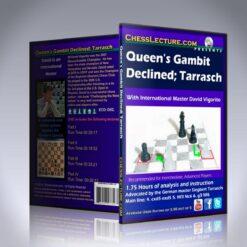 Queen's Gambit Declined: Tarrasch – IM David Vigorito