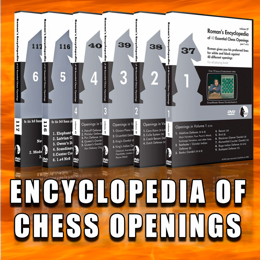 Roman's Lab Chess DVD – The encyclopedia of chess openings