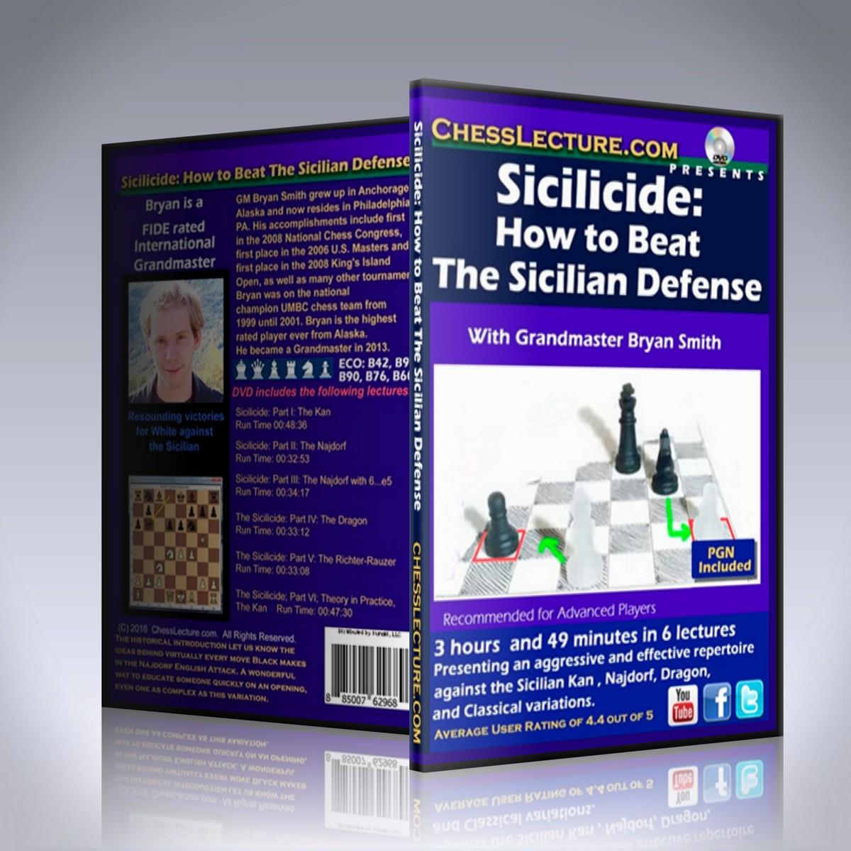 Sicilicide: How to Beat The Sicilian Defense – GM Bryan Smith