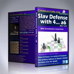 Slav Defense with 4… a6 – GM Leonid Kritz