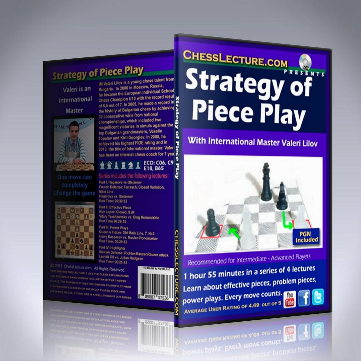 Strategy of Piece Play – IM Valeri Lilov
