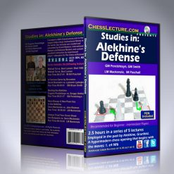 Studies in: Alekhines Defense – IM Bill Paschall, GM Bryan Smith, GM Eugene Perelshteyn and LM Dana Mackenzie