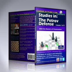 Studies in: The Petrov Defense 2 DVD set – IM Bill Paschall, IM David Vigorito, FM Dennis Monokroussos and GM Leonid Kritz