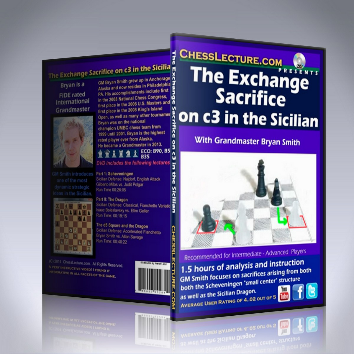 The Exchange Sacrifice on c3 in the Sicilian – GM Bryan Smith
