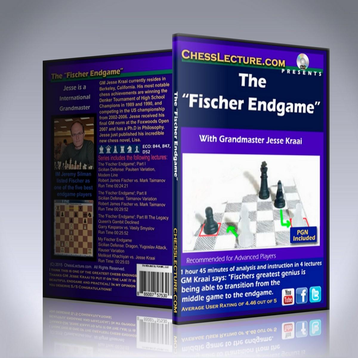 The Fischer Endgame – GM Jesse Kraai