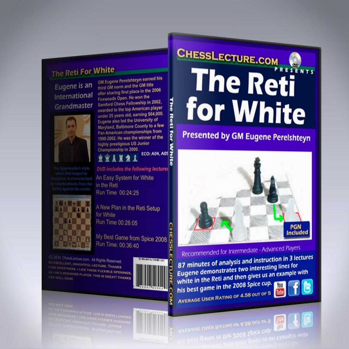 The Reti for White – GM Eugene Perelshteyn
