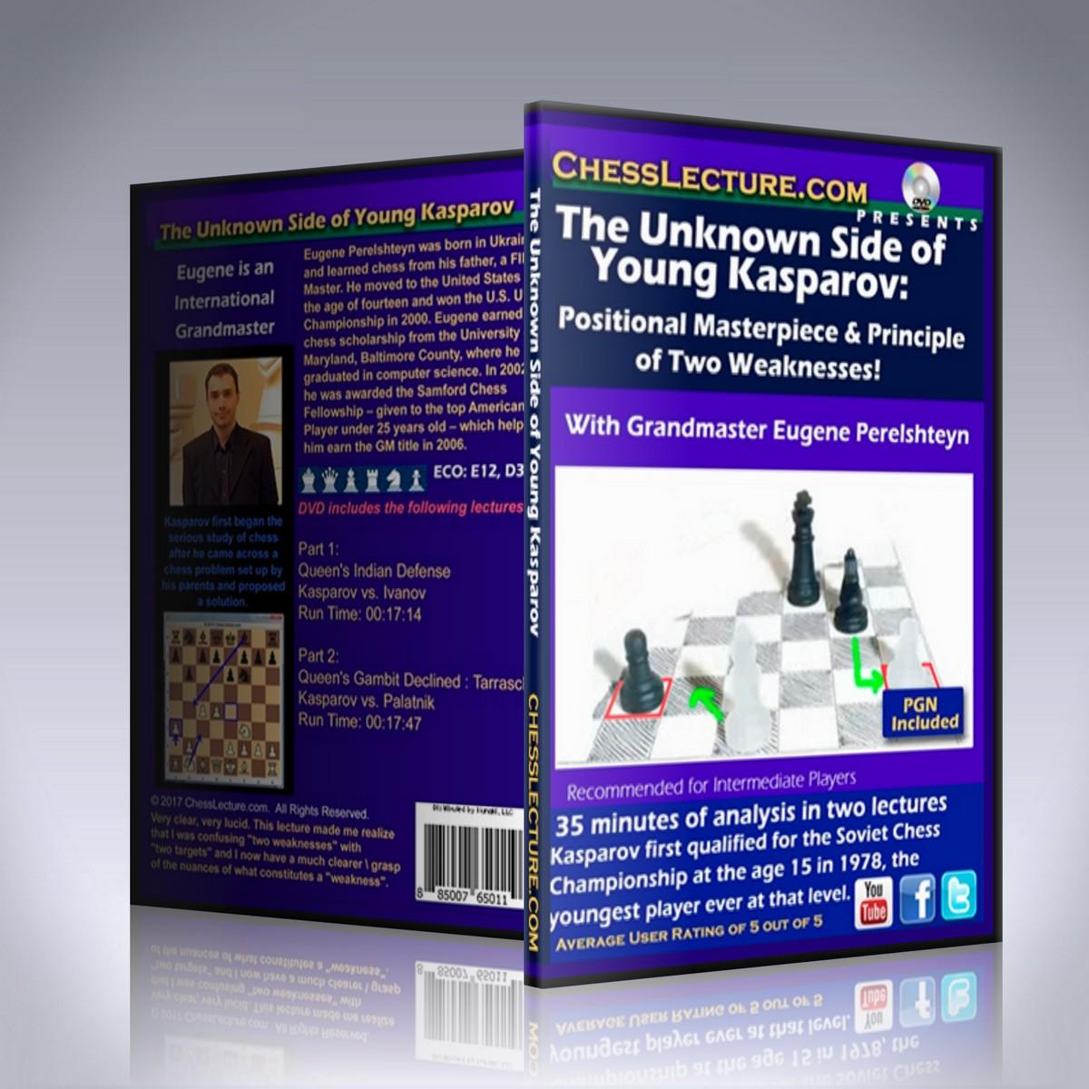 The Unknown Side of Young Kasparov – GM Eugene Perelshteyn