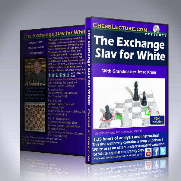 The Exchange Slav for White – GM Jesse Kraai