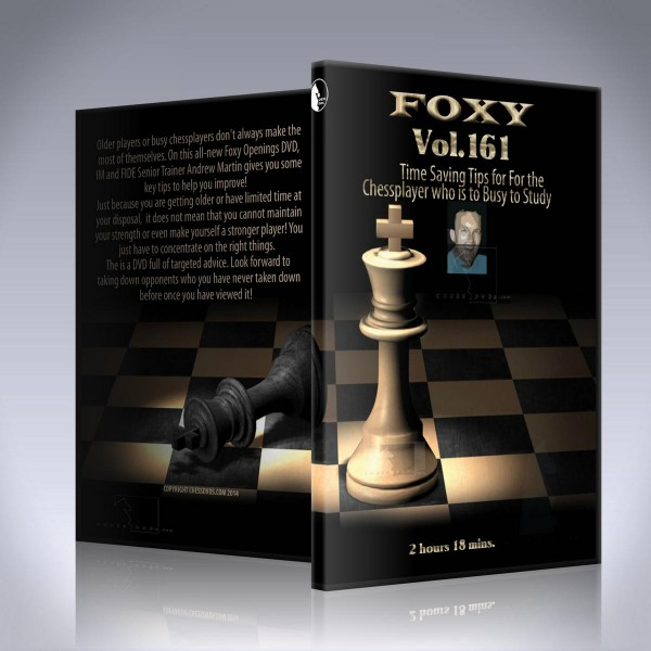 Time Saving Tips for the Chess Player Who is Too Busy to Study – IM Andrew Martin