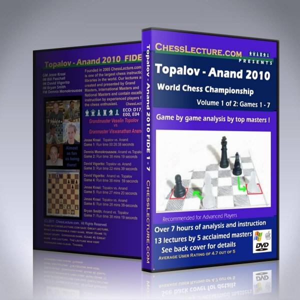Topalov – Anand 2010 World Chess Championship