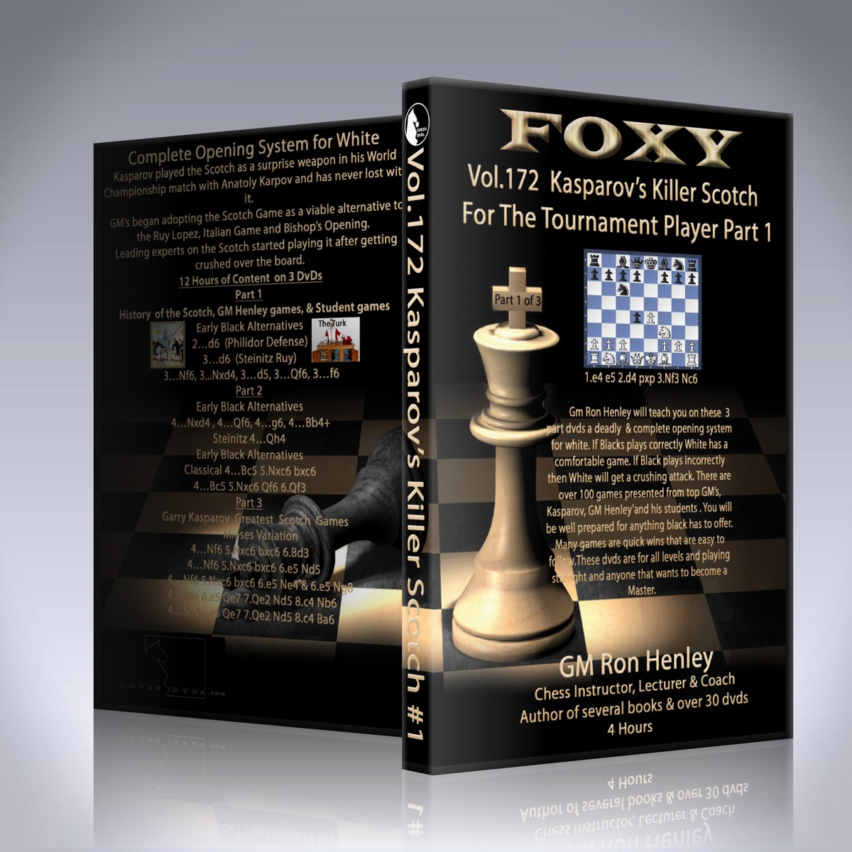 Kasparov's Killer Scotch For The Tournament Player Part 1 – GM Ron Henley