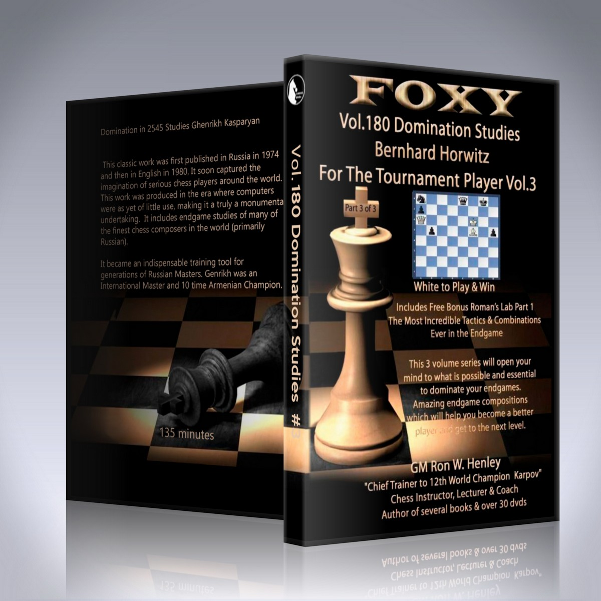 Domination Studies – Bernhard Horwitz for the Tournament Player – Vol. 180 – Part#3