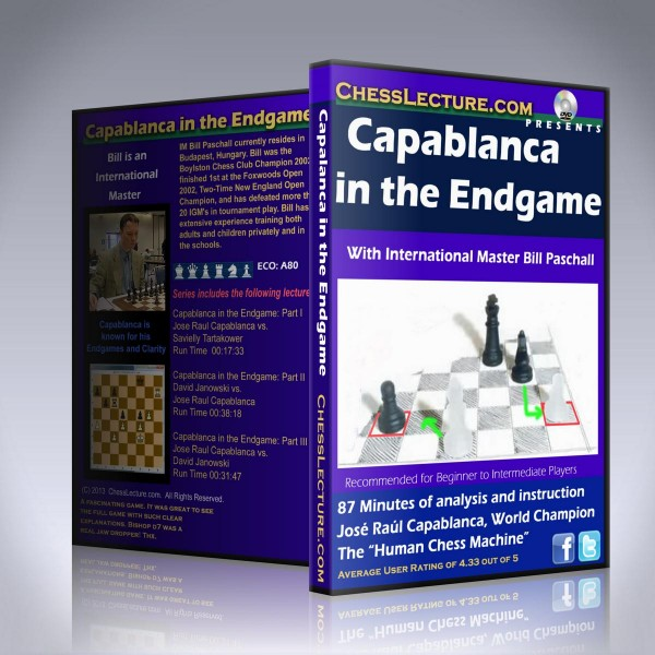 Capablanca in the Endgame – IM Bill Paschall