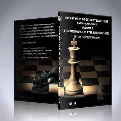 10 Easy Ways to Get Better at Chess – Vol 1 – IM Andrew Martin