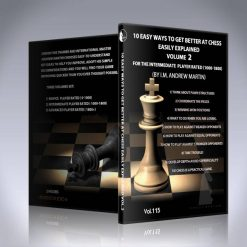 10 Easy Ways to Get Better at Chess – Vol 2 – IM Andrew Martin