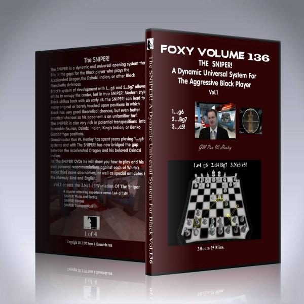The SNIPER! – Vol 1 – A Counter-Attacking Repertoire vs. 1.e4 or 1.d4 – GM Ron Henley