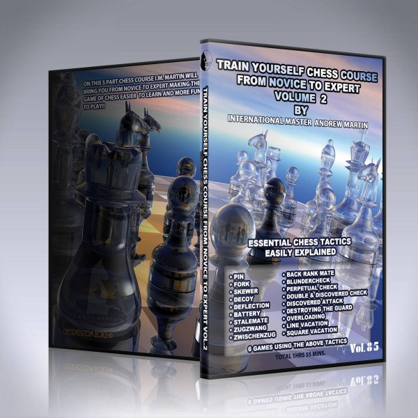 Essential Chess Tactics Easily Explained – IM Andrew Martin