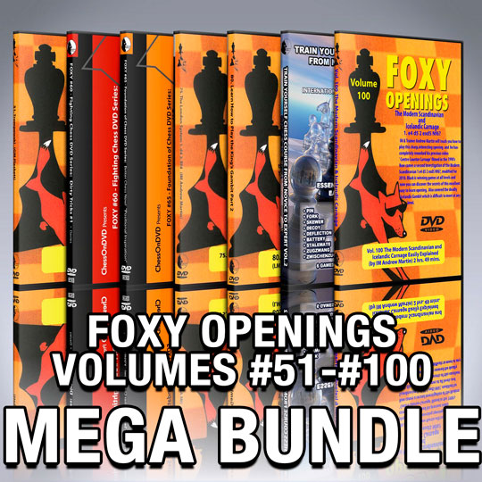 Foxy Chess DVD Bundle Volumes 51-100