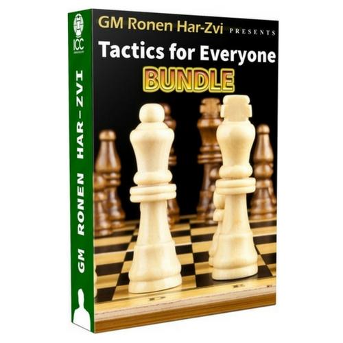 Tactics for Everyone Bundle with GM Ronen Har-Zvi