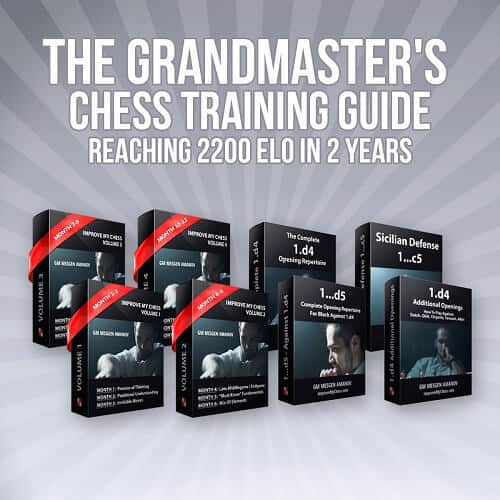 The Grandmasters Chess Training Guide: Reaching 2200 Elo in 2 Years