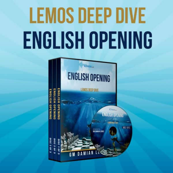 The English Opening – GM Damian Lemos (Lemos Deep Dive Vol. 10)