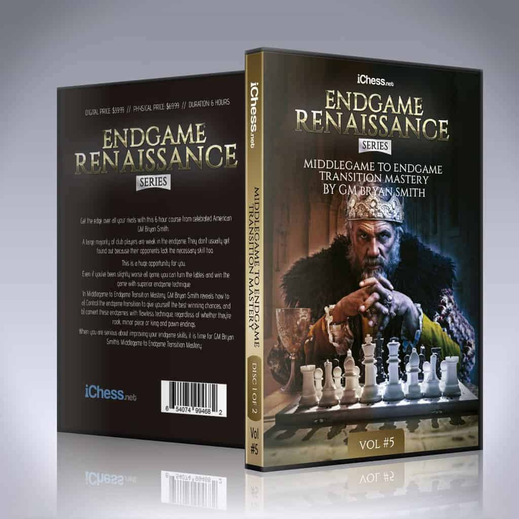 Middlegame To Endgame Transition Mastery – GM Bryan Smith
