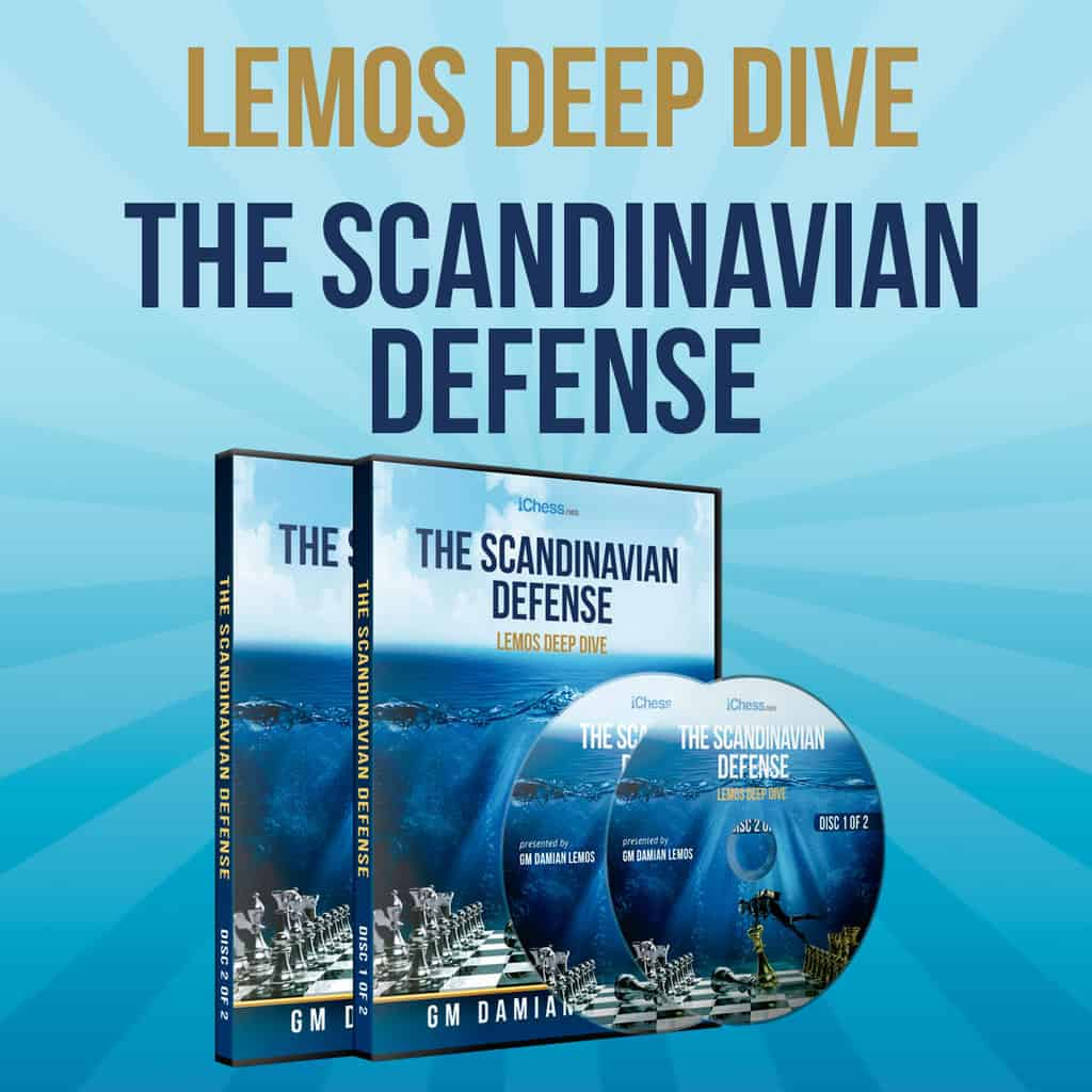 The Scandinavian Defense – GM Damian Lemos (Lemos Deep Dive)