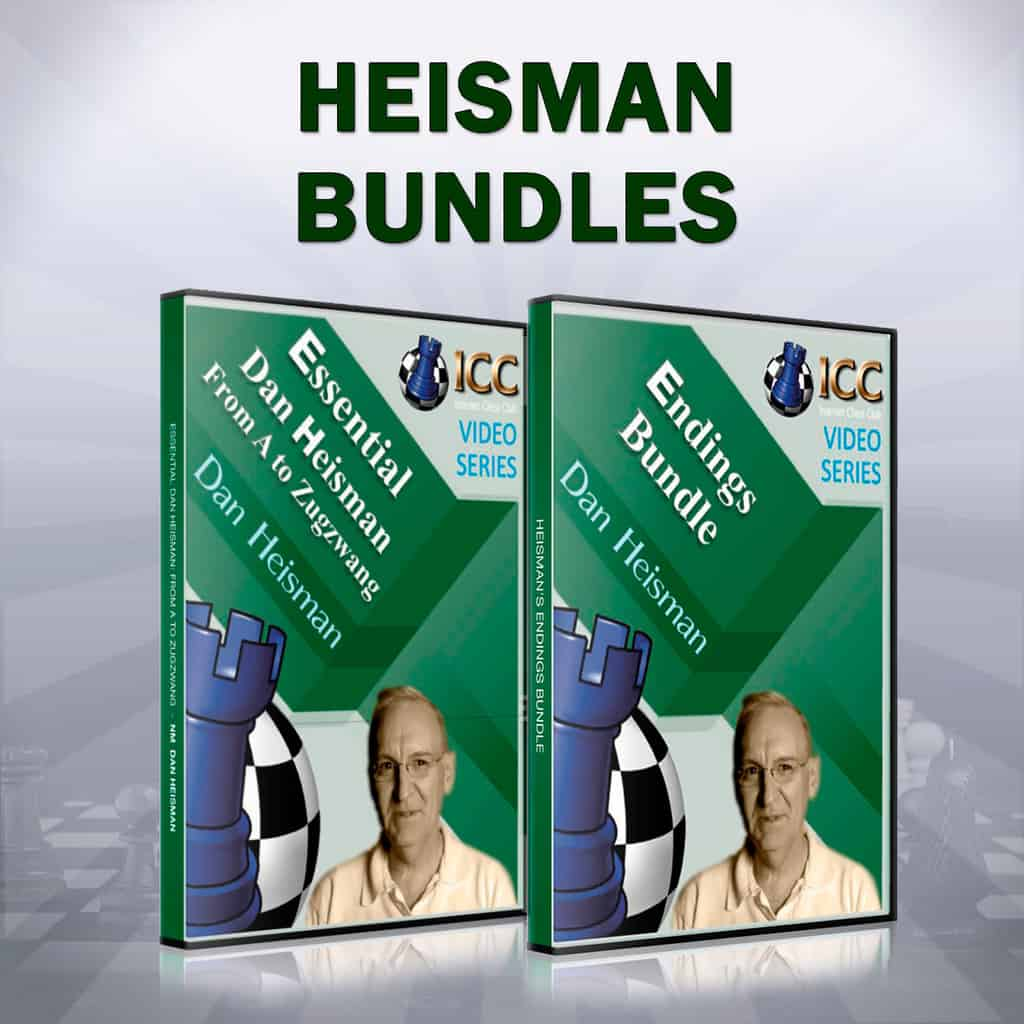 Essential Dan Heisman From A to Zugzwang and Endings Bundle