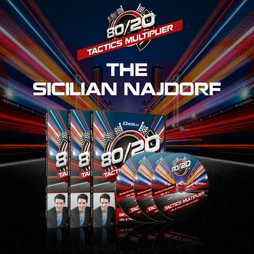 80/20 Tactics Multiplier: Tactics the Sicilian Najdorf – GM Niclas Huschenbeth
