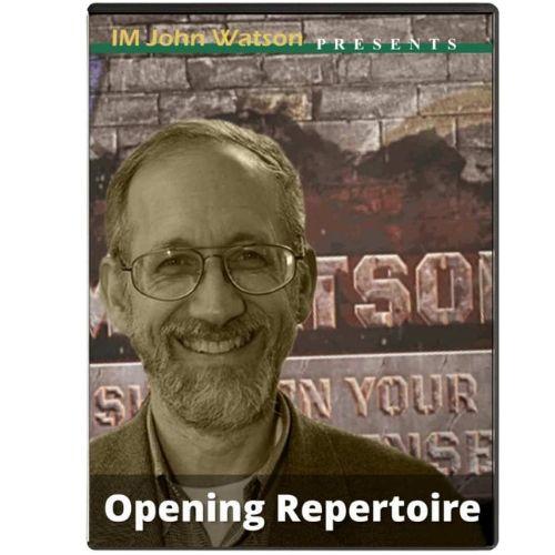 Complete Opening Repertoire – IM John Watson