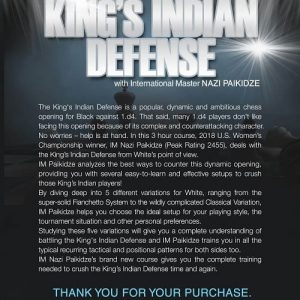 How To Beat the King's Indian Defense