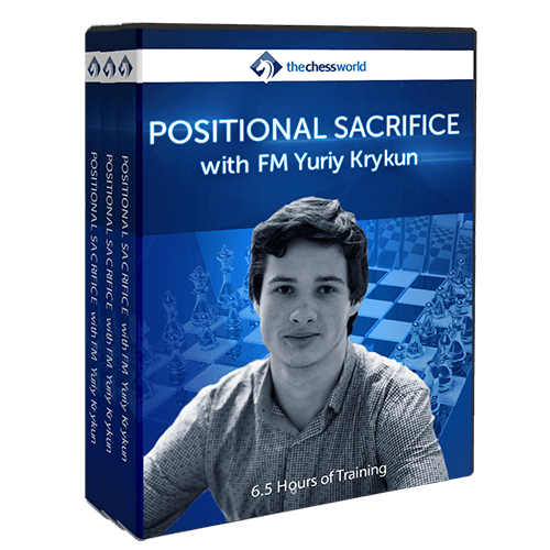 Positional Sacrifice with FM Yuriy Krykun
