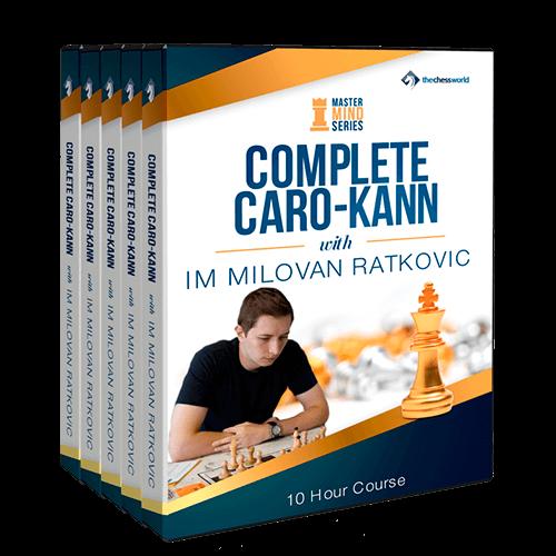 The Complete Caro-Kann Mastermind with IM Milovan Ratkovic
