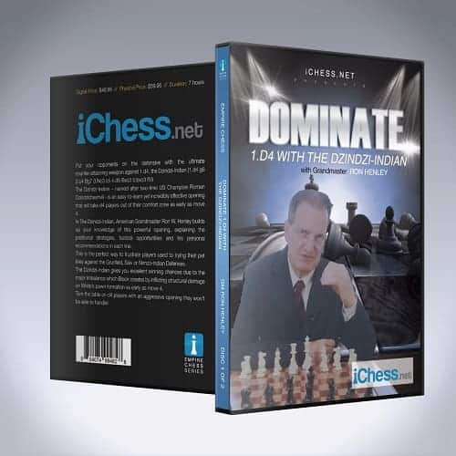 Dominate 1.d4 with The Dzindzi Indian – GM Ron W. Henley