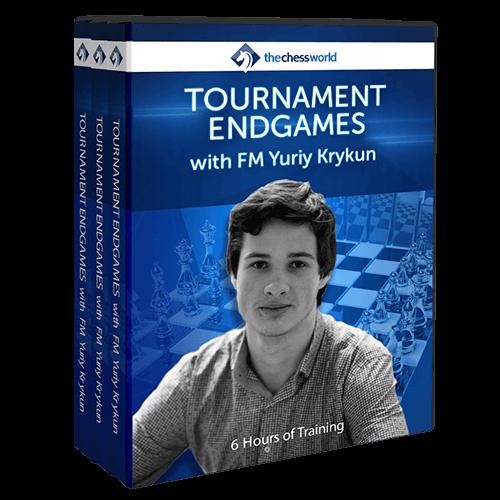 Tournament Endgames with FM Yuriy Krykun