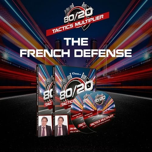 80/20 Tactics Multiplier: The French Defense – GM Mihail Marin