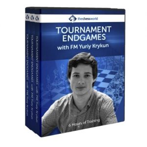 tournament endgames with FM Krykun