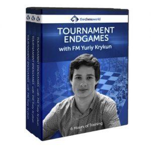 tournament endgames with FM Krykun