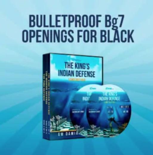 Bulletproof Bg7 Openings for Black by GM Damian Lemos