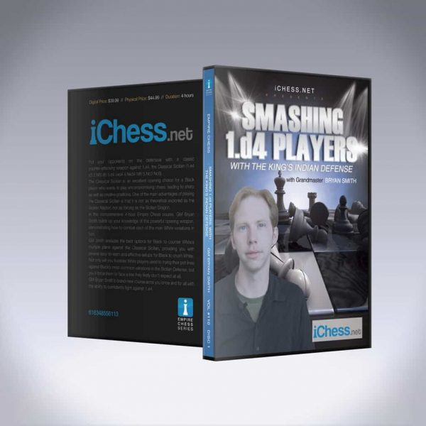 Smashing 1.d4 Players with The Kings Indian Defense – GM Bryan Smith