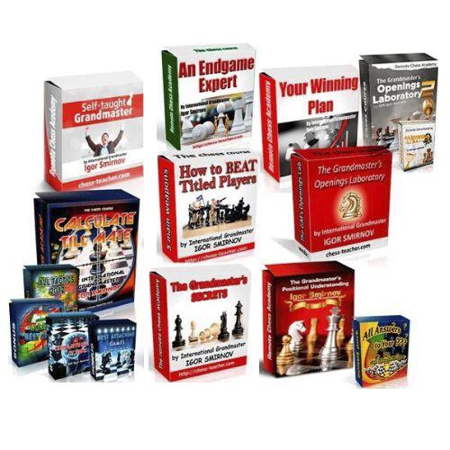 ALL Chess Courses by GM Igor Smirnov