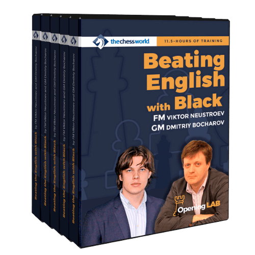 Beating English with Black Opening Lab by FM Neustroev and GM Bocharov
