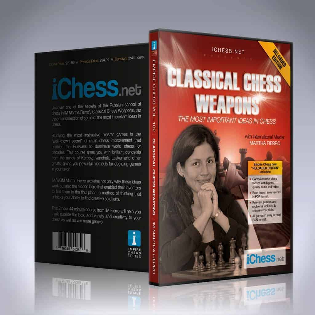 Classical Chess Weapons: The Most Important Ideas in Chess – IM Martha Fierro