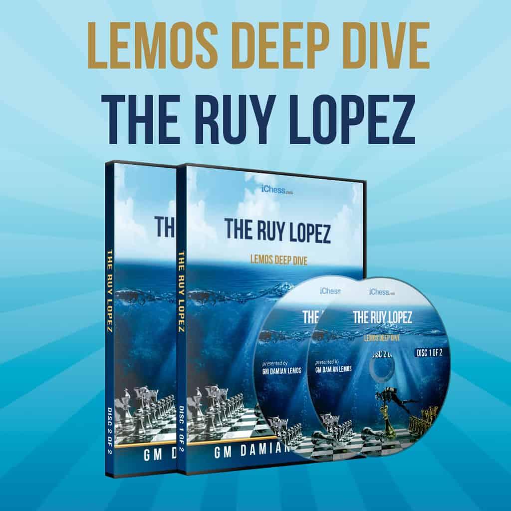The Ruy Lopez Part 1 – GM Damian Lemos (Lemos Deep Dive Vol. 17)